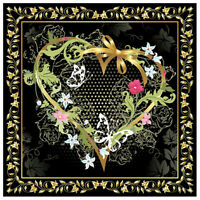 5D DIY Full Drill Diamond Painting Love Heart Cross Stitch Embroidery Kit