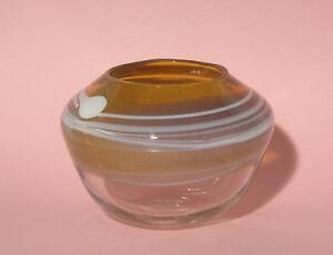 Early Australian Pauline Delaney Art Glass Bowl