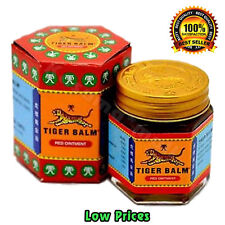 1 x 30 G TIGER BALM HERBAL RED OINTMENT MASSAGE RELIEF MUSCLE PAIN FREE SHIPPING