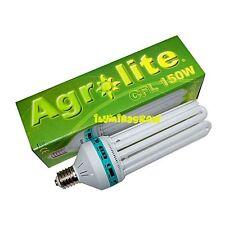 Bombilla Bajo Consumo CFL 150W E40 Luz Blanca 6400K Crecimiento AGROLITE