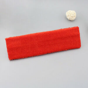 Unisex Sport Gym Yoga Cotton Headband Sweat Sweatband Elastic Turban Hair Band