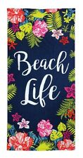 Large Beach Towel Bath Sports Swimming Travel Gym Camping Holiday Summer Towels Busy Doing Nothing
