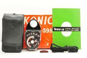 """ Near Mint w/ Box "" Sekonic L-398 Exposure Light Meter Studio deluxe From JAPAN"