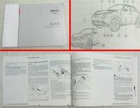 Nissan Juke F15 Betriebsanleitung Bedienungsanleitung Bordbuch Stand 3/2018
