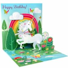 Pop-Up Greeting Card Trearures by Up With Paper - Unicorn