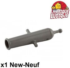 Lego - 1x minifig arme weapon cannon cannon gris pearl dark gray x110c01 NEUF