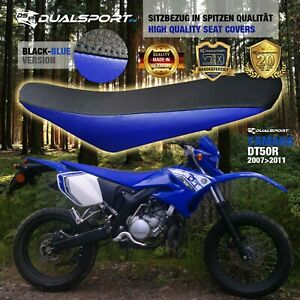 YAMAHA DT 50 R Sitzbezug, Seat Cover, Coprisedile BLUE für DT50R by DualSport