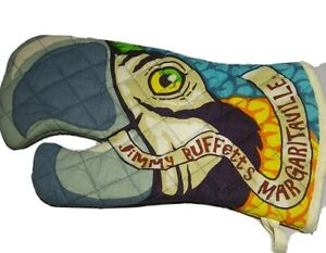 Jimmy Buffett Margaritaville Tropical Parrot Oven Mit pot holder collectible