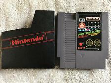Donkey Kong JR Math / Rare / Cart & Sleeve / Nintendo NES / PAL A