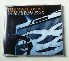 The Waterboys  ‎–   My Love Is My Rock In The Weary Land. CD Single Promo.