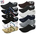 Lot 6-Pack Mens Low Cut No Show Socks Invisible Loafer Boat Ankle Cotton 7-10