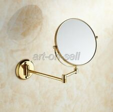 Dual Makeup mirrors 1:1 and 1:3 magnifier Cosmetic Bathroom Wall Mirror aba040
