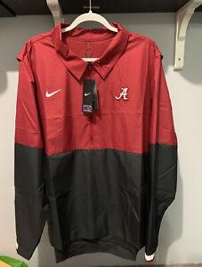 Nike Alabama Football On-Field Sideline Windbreaker Jacket CQ5093-698 2XL
