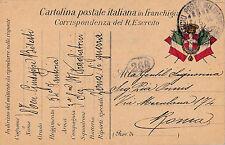 CARTOLINA POSTA MILITARE COMANDANTE 3 SEZIONE MITRAGLIATRICI 54° FANTERIA 11-123