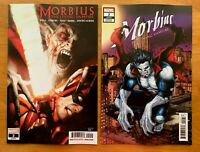 MORBIUS #2 Brown Main Cover + Ryp Connecting Variant Set Marvel 2019 NM+