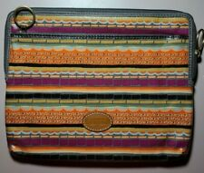 NEW FOSSIL STRIPED ELEGANT IPAD TABLET CASE SLEEVE