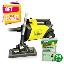 Clean Obsessed Commercial Hepa Canister Vacuum Co711 w/ Kit