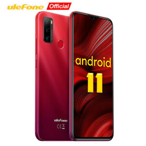 Ulefone NOTE 10 Unlocked Smartphone Android 11 OctaCore Dual SIM 4G Mobile Phone