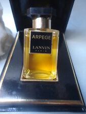 LANVIN Arpege Parfum Estratto VINTAGE 1960-70s 7.5ml NUOVO Quasi Nuovo Scatola Sigillata
