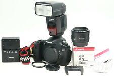 2150 CLICKS Canon 60D DSLR EF 50MM F1.8 50/1.8 II LENS SPEEDLITE 580EX II FLASH