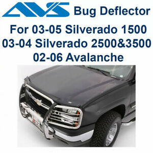 AVS 23252 Bugflector Bug Deflector Hood Shield 03-06 Chevy Silverado Avalanche
