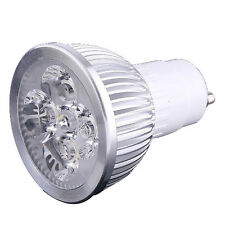 4 LED GU10 Light Bulb 4W Cold White 85-265V LW