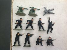 Airfix 1/32 WWII British Commandos Infantry Painted Plastic Figures Soldiers Lot