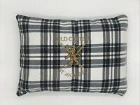 Golf Cushion Erskine Tartan St Andrews Embroidered Logo Brand New Gift