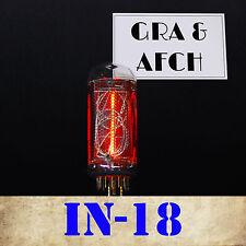 IN-18 NIXIE TUBE FOR NIXIE CLOCK. NEW. TESTED. NUMERIC GAZOTRON [1PC]