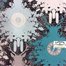 RPB39D Deer Antler Cuckoo Clock Forest Modern Graphic Cotton Quilting Fabric