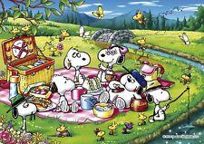Apollo-sha Jigsaw Puzzle 41-723 PEANUTS Snoopy Beagle Picnic 108 Pieces