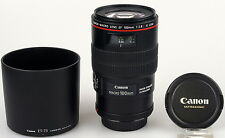 Canon EF 100mm F2.8 L. IS. USM macro lens in perfect condition