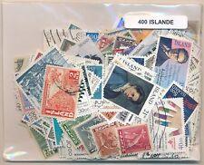 Islandia    US  Paquete  400 sellos diferentes