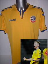 BOLTON WANDERERS Adulte Grand Hummel shirt jersey football soccer BNWT très rare