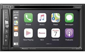 NEW Pioneer AVIC-W6600NEX 2 DIN DVD Player GPS Bluetooth HD WiFi CarPlay Weblink