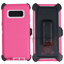 FOR SAMSUNG GALAXY Note 8 Defender case cover (Clip Fits OtterBox)