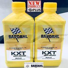 2 Litri Bardahl KXT OFF ROAD mPlus Olio Miscela Sintetic Moto Cross Trial Sae 50