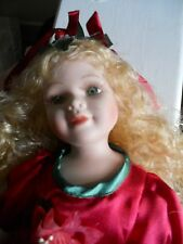 limited edition china doll tag on but no maker mark to the back of the head.