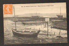 LE CROISIC (44) BARQUES de PECHEUR & OSTREICOLE au PARC à HUITRES du MONT ESPRIT