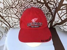 OLD TIME HOCKEY Detroit Red Wings New Era Strap Cap Hat NHL Adjustable One Size