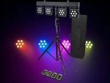 Light Emotion LED Par Bar 28 3W 3-in-1 LED Gig Bar DJ Stage light foot control