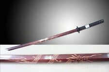 "NEW Red Dragon 40"" Wood Bokken Practice Training Samurai Sword Katana"