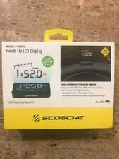 SCOSCHE: HEADS-UP LED DISPLAY (OBDII) NEW (FAST FREE SHIPPING)