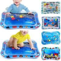 Baby Wasserkissen Spielzeug Spielmatte Aufblasbare Früherzieh Bauch-Zeit-Seewelt