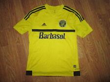 Boys ADIDAS CLIMACOOL COLUMBUS CREW soccer jersey shirt #11 L Lg