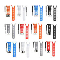 Rubber Watch Replacement Band Strap For Suunto Ambit 1 2 3 with Tool Screwdriver