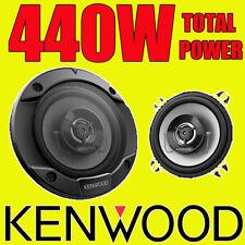 Kenwood 440W 2-WAY total 4 pulgadas 10cm coche par Altavoces Coaxiales Puerta/Estante