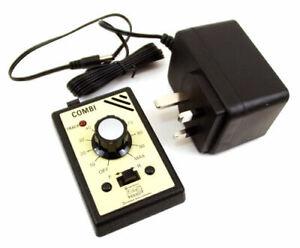 Gaugemaster Single Track Controller with Plug in Transformer GMC-COMBI