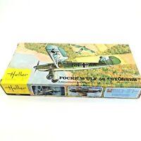 Heller German Fighter Plane Focke Wulf 56 Stosser 1/72 Scale Model Kit #151