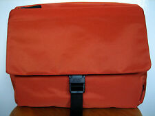 Jost Soho Medium 30 cm Burnt Orange Brown Nylon Crossbody Messenger Shoulder bag